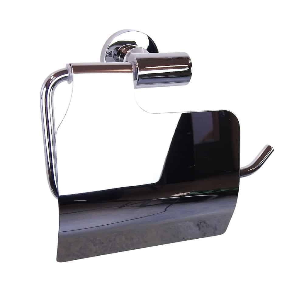toiletrolhouder verchroomd RVS