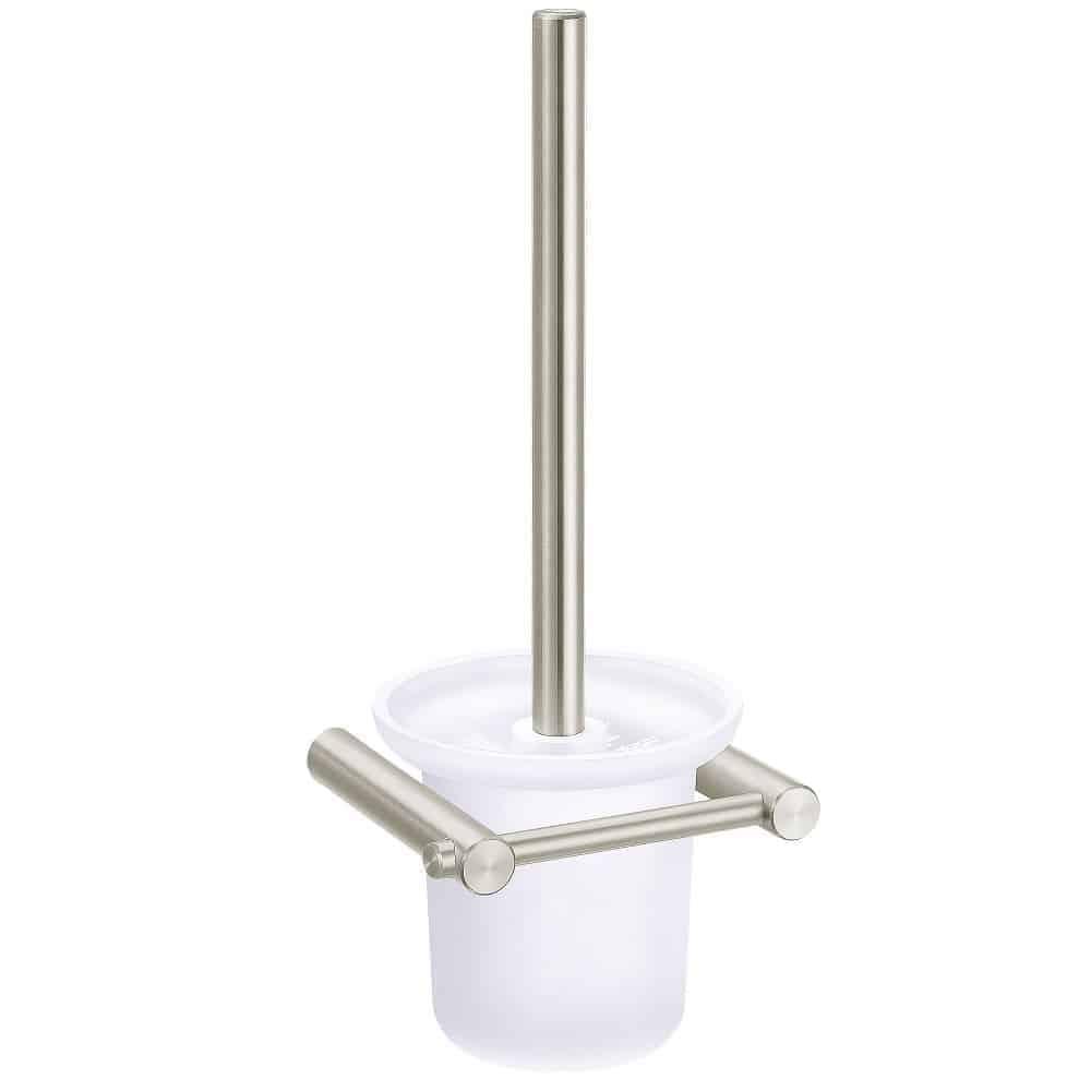 Toiletborstel met houder mat RVS HI-2594B