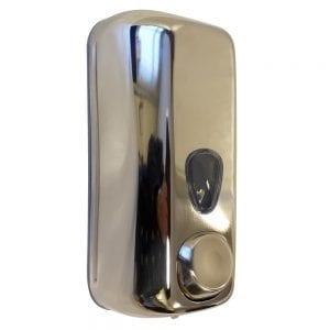 Marplast zeepdispenser A71400AP - Professionele kwaliteit - Gepolijst RVS - 550 ml - Geschikt voor openbare ruimten