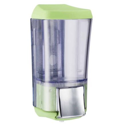 Marplast zeepdispenser A76424VE - Professionele kwaliteit - Groen met Transparant - 170 ml - Geschikt voor openbare ruimten