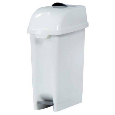 72911000 Marplast afvalbak dameshygiëne - wit - inhoud 17 liter